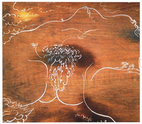 André Masson (1896-1987), Panneau-masque de l'Origine du ...